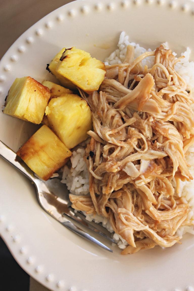Teriyaki Chicken in a Crockpot