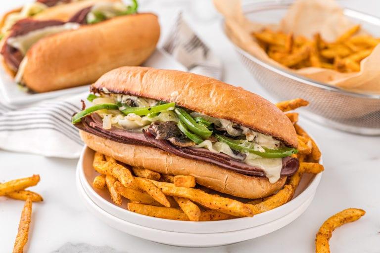 Philly Cheesesteak Recipe with Garlic Mayo