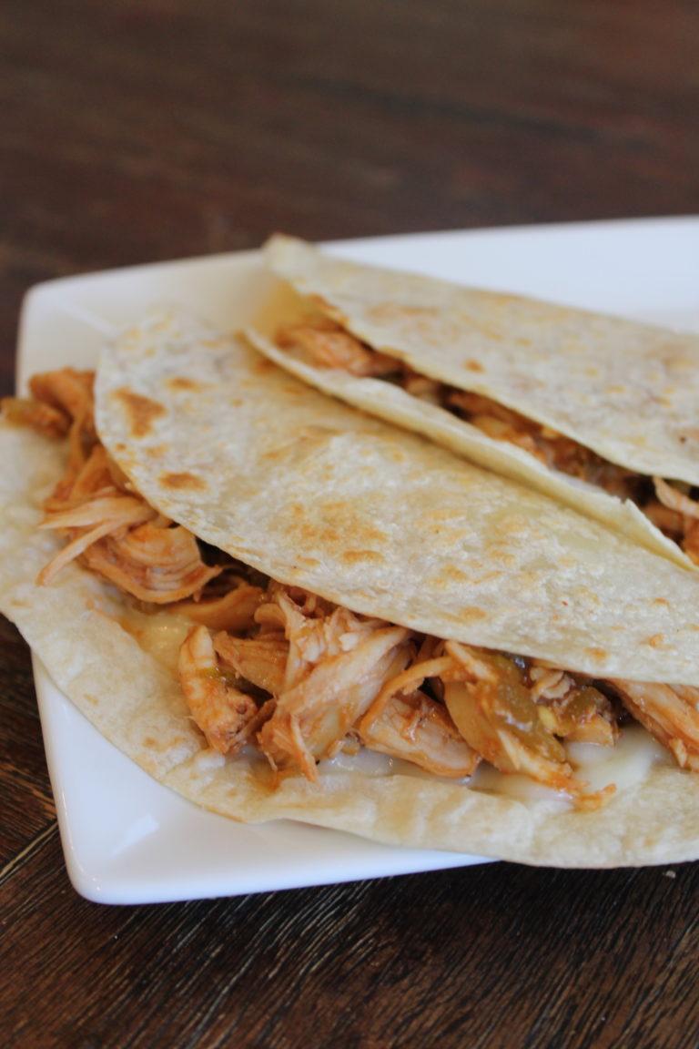 BBQ Chicken Chile Quesadilla