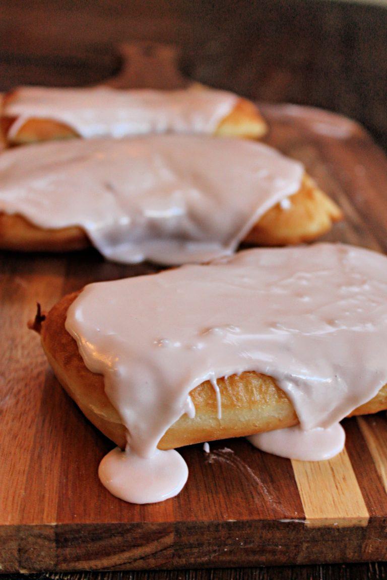 Maple Long John Doughnuts