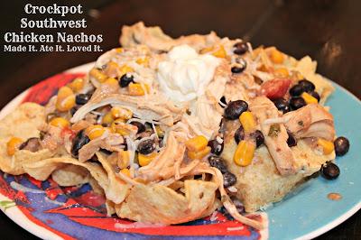 Crockpot Southwest Chicken Nachos
