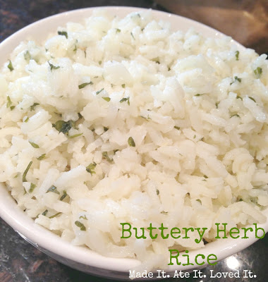Buttery Herb Rice