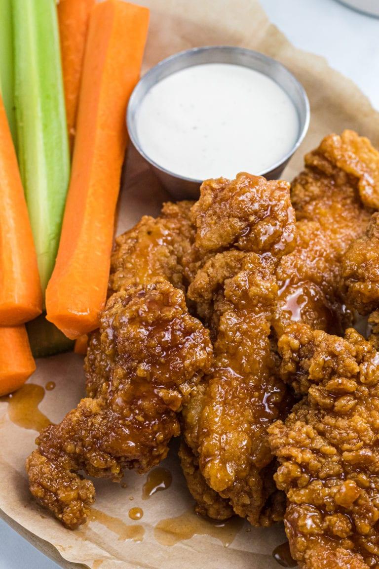 Honey Hot Chicken Strips