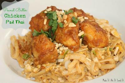 Peanut Butter Chicken Pad Thai
