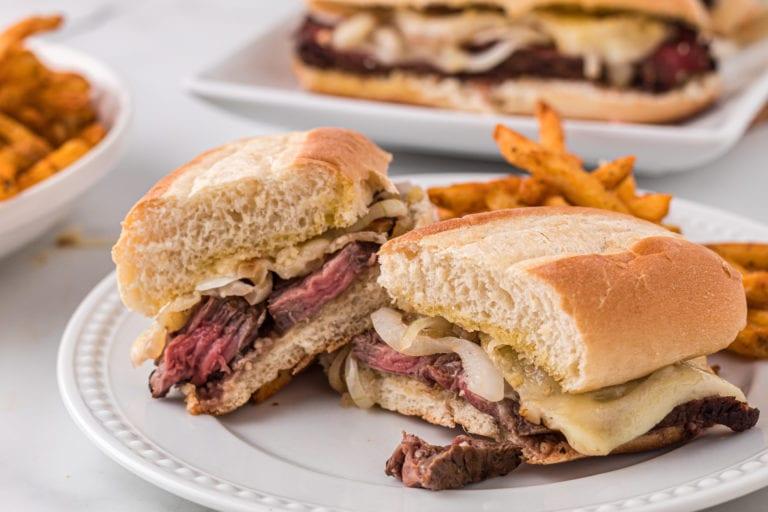 Cheesy Havarti Steak Sandwich