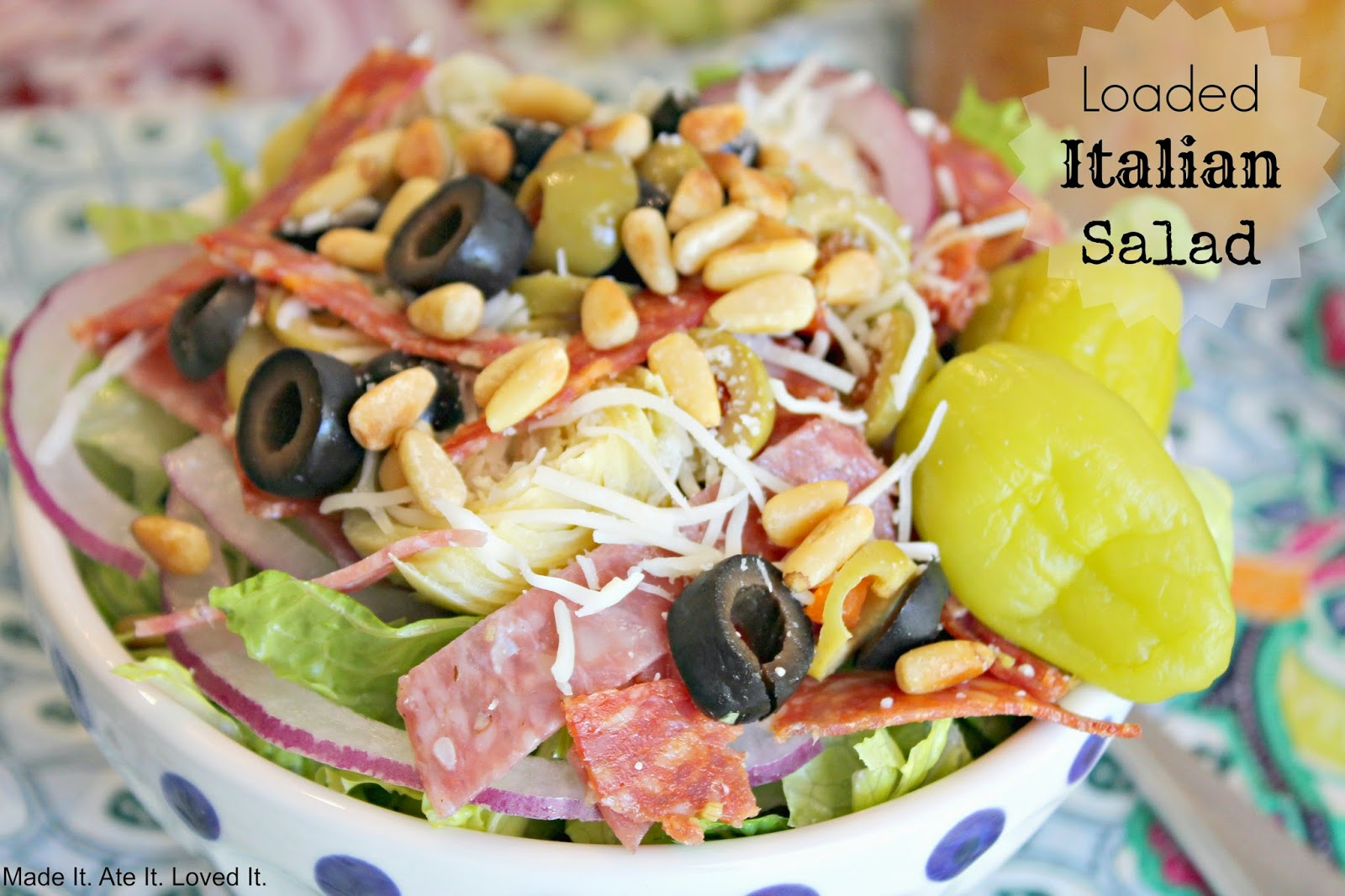 Low Carb Summer Salad