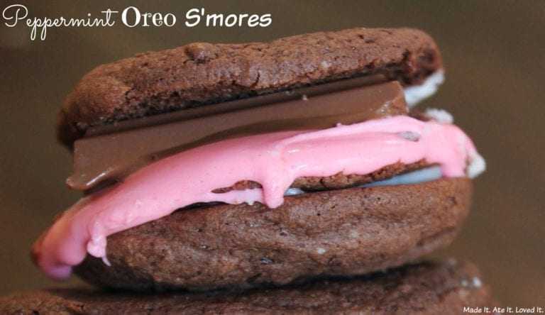 Peppermint Oreo S'mores