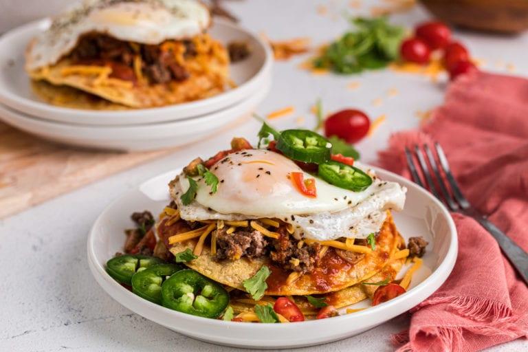 Sonoran Style Enchiladas