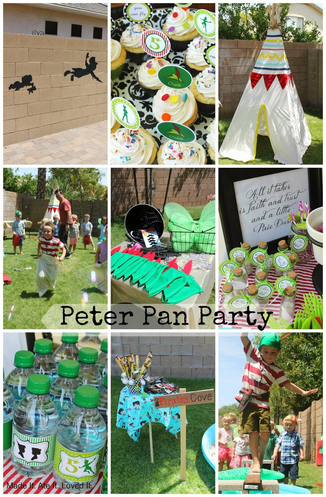 A SPECTACULAR Peter Pan Party!