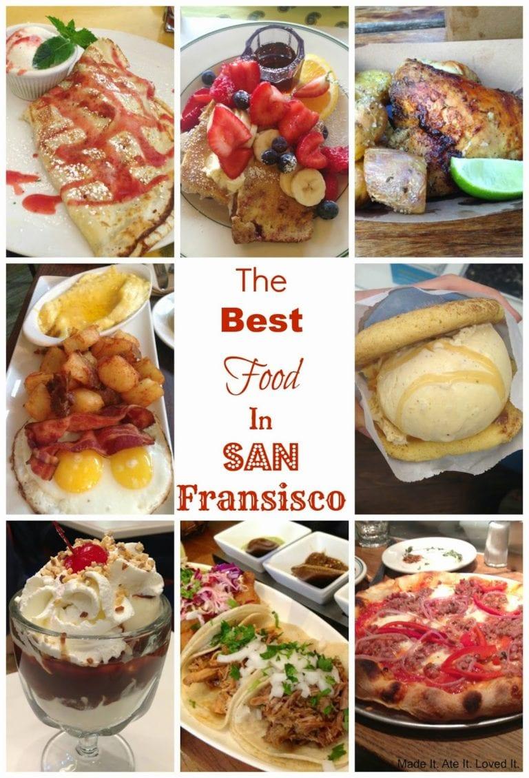 San Fransisco Travel Food