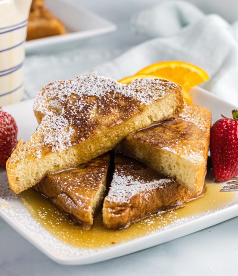Amazing French Toast with Buttermilk Syrup