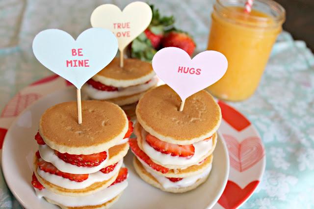 Strawberry Shortcake Mini Stacks