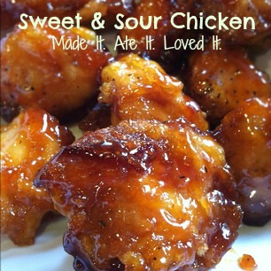 Sweet and Sour Chicken [EASY RECIPE] | Made It. Ate It. Loved It.