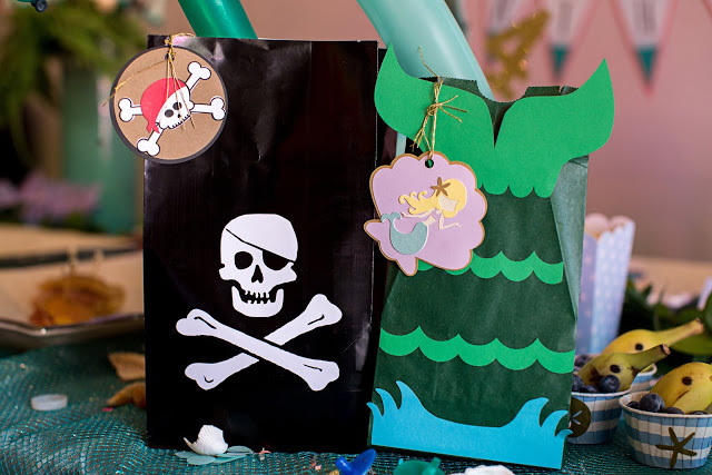 Mermaid and Pirate Party Food and Activities