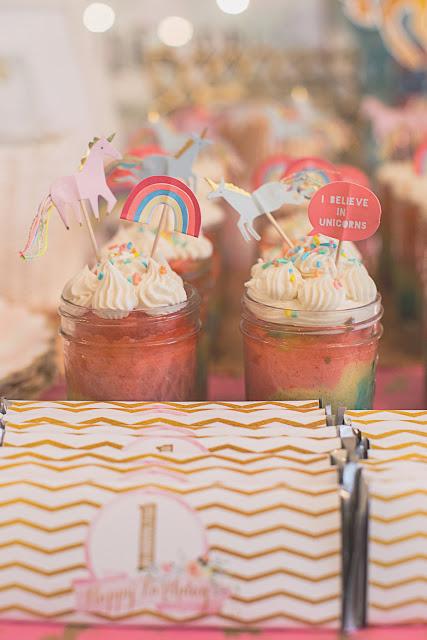 EASY Rainbow Cake in a Jar