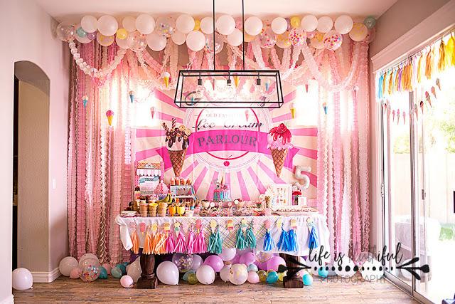 The Best Ice Cream Party