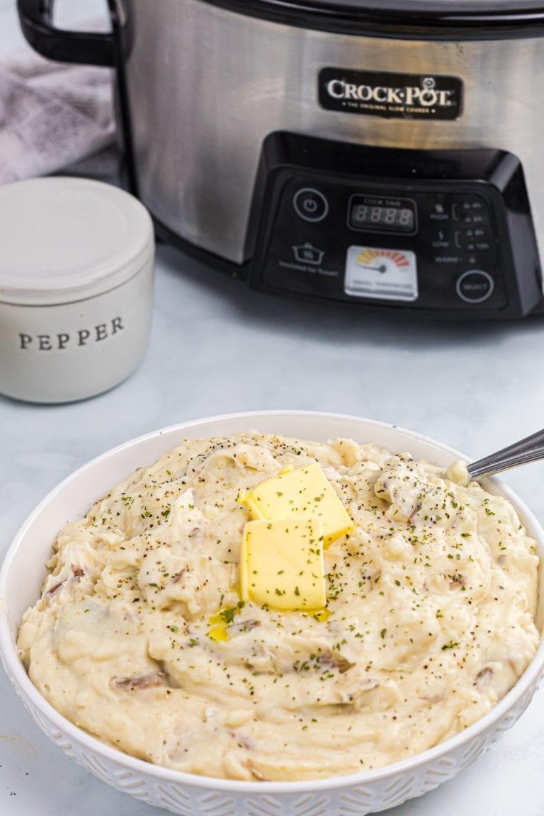 Crockpot Mashed Potatoes!
