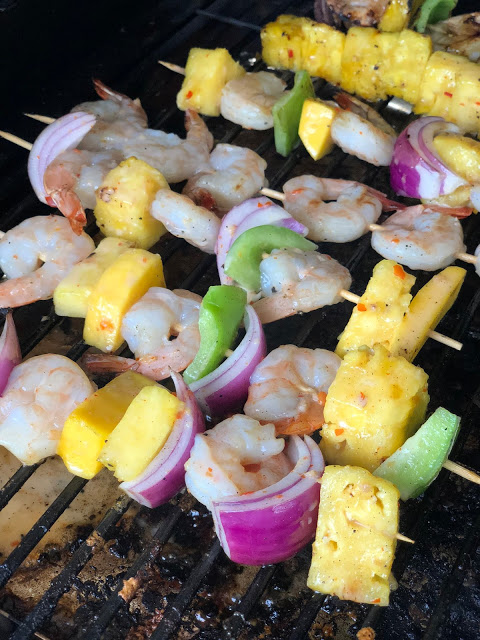 Sweet and Creamy Coconut Shrimp Kabobs