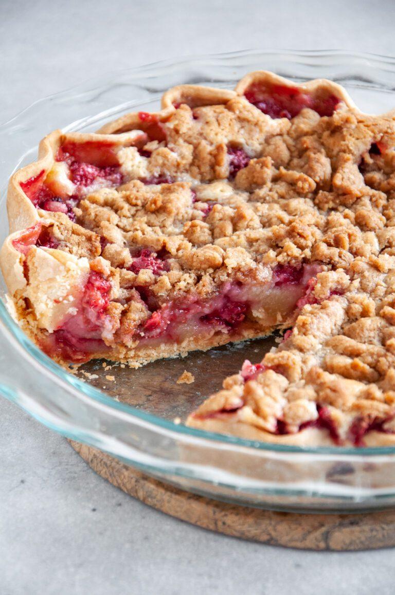 Raspberry Cream Pie Recipe