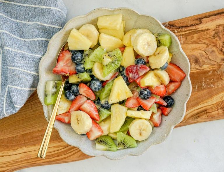 The Best Homemade Fruit Salad Recipe