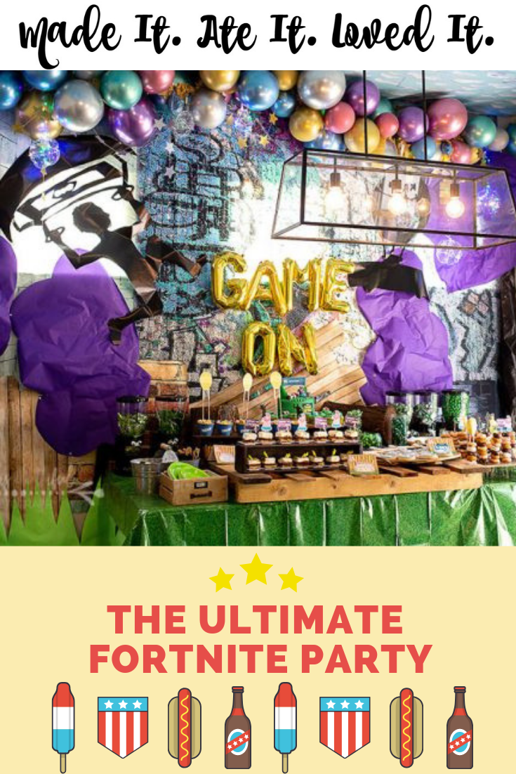 fortnite birthday party - fortnite party invitations free