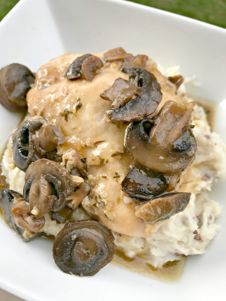 The BEST Slow Cooker Chicken Marsala