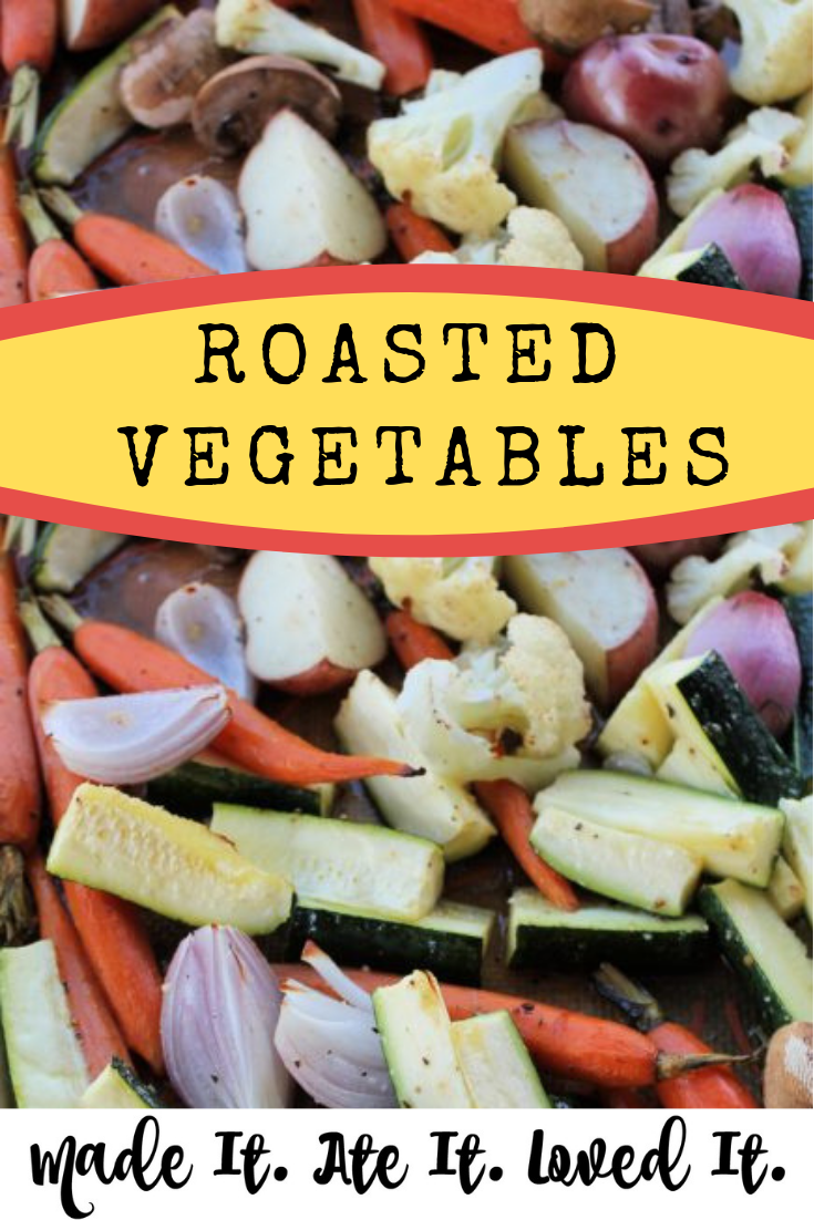Roasted Vegetables Looking for the best way to oven roast vegetables? Or are you wanting the perfect roasted vegetables with balsamic vinegar? #sidedishes #vegetabledish #madeitateitlovedit #deliciousrecipes