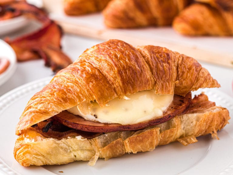 Supreme Breakfast Croissant