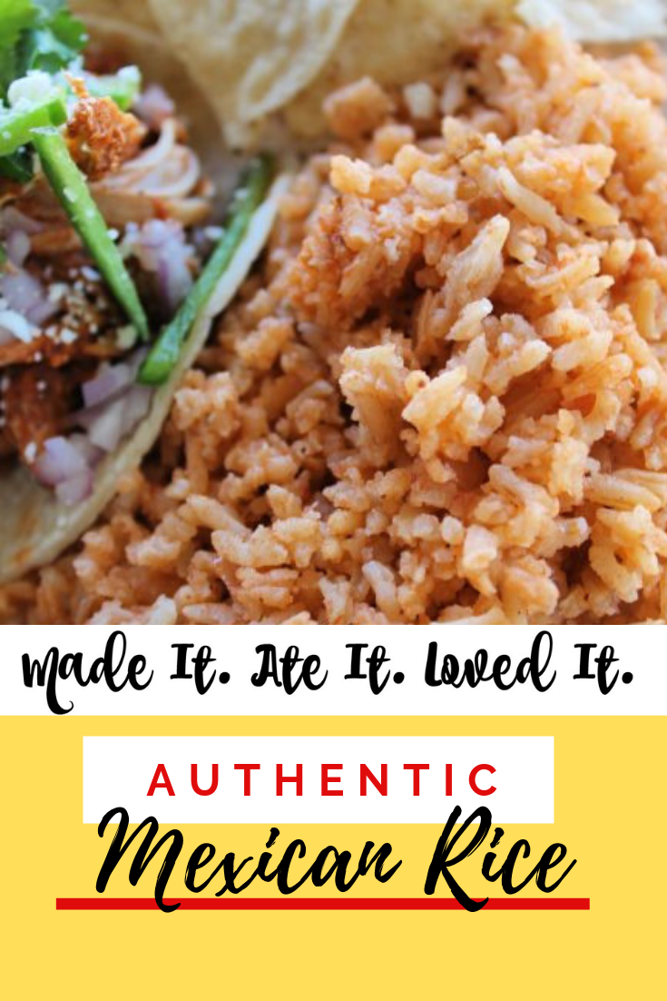 Authentic Mexican Rice Recipe How to make Mexican Rice at Home #mexicanrecipes #deliciousfood #madeitateitlovedit #easyrecipes