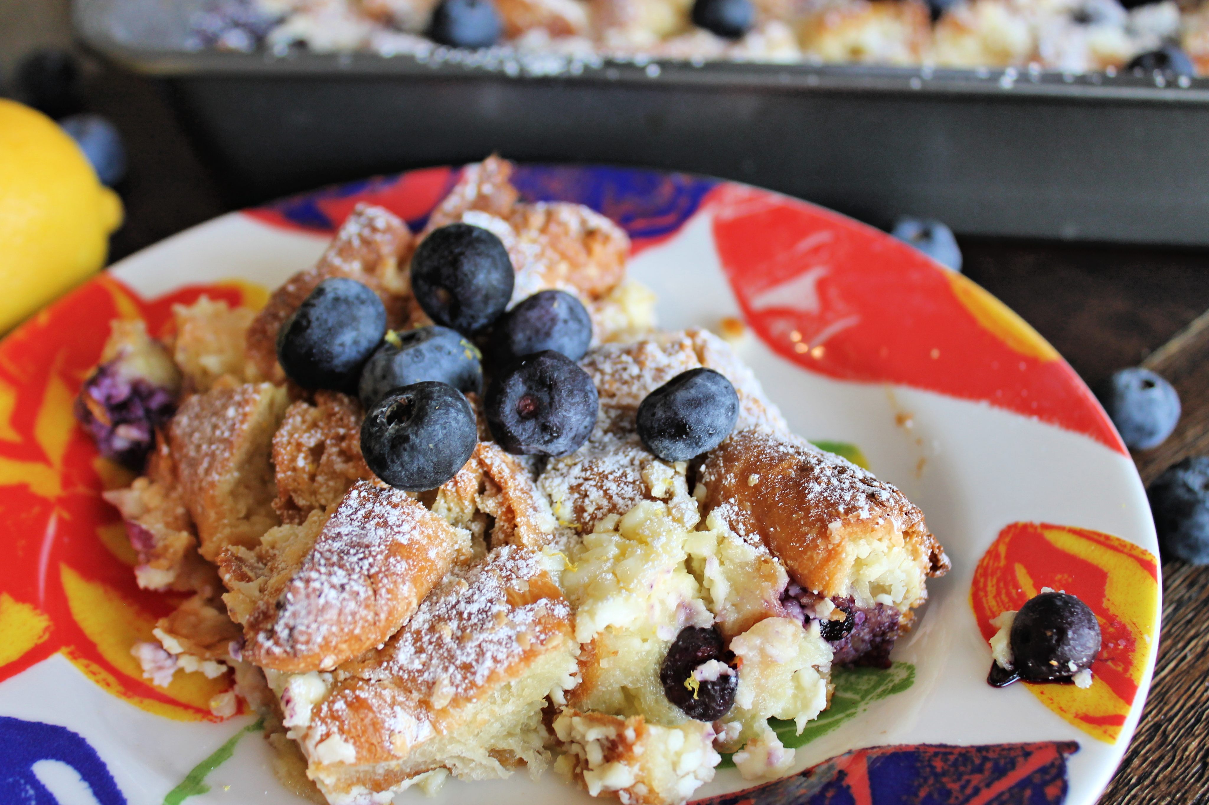 Blueberry Croissant Bake Recipe