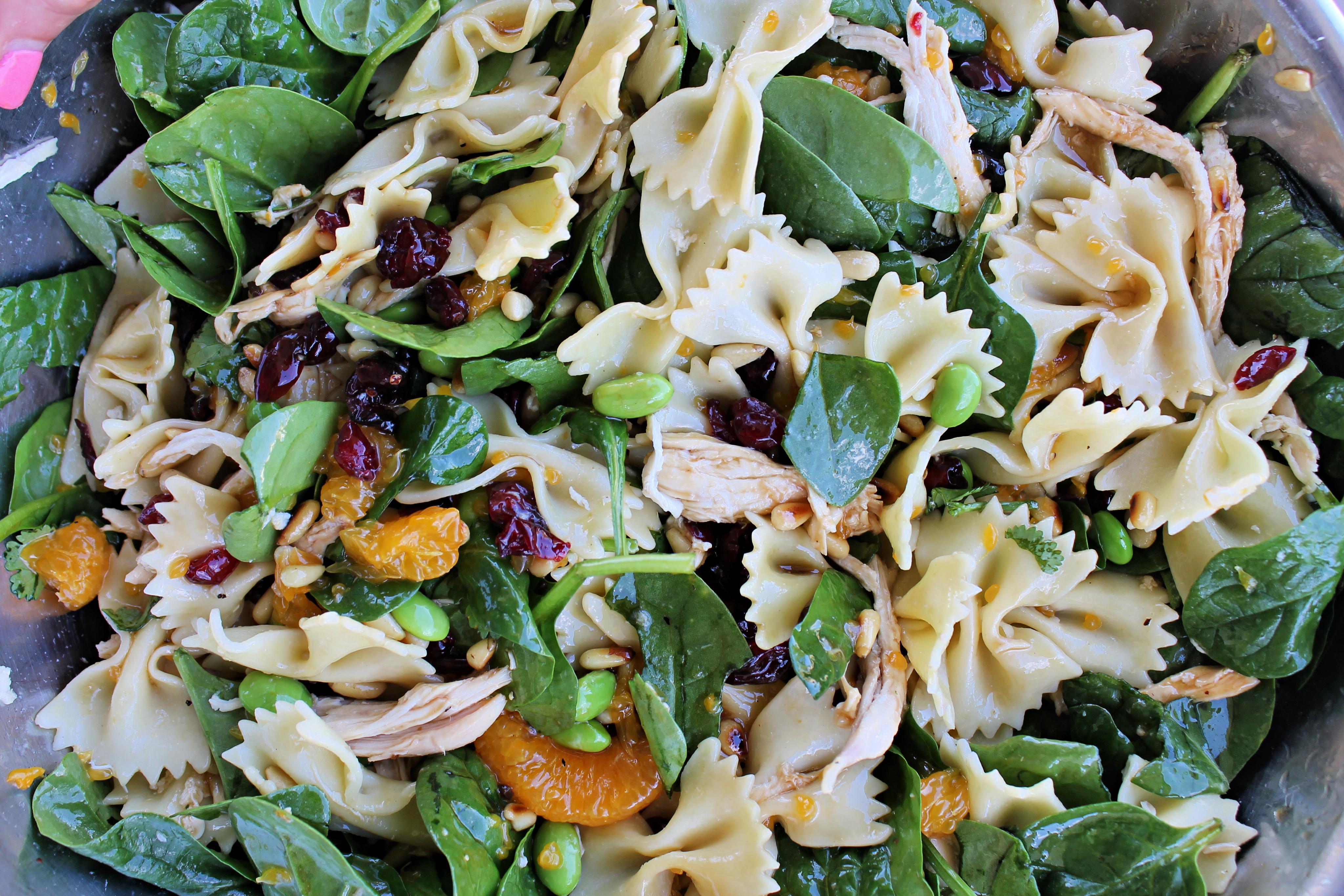 The BEST Oriental Pasta Salad Recipe!