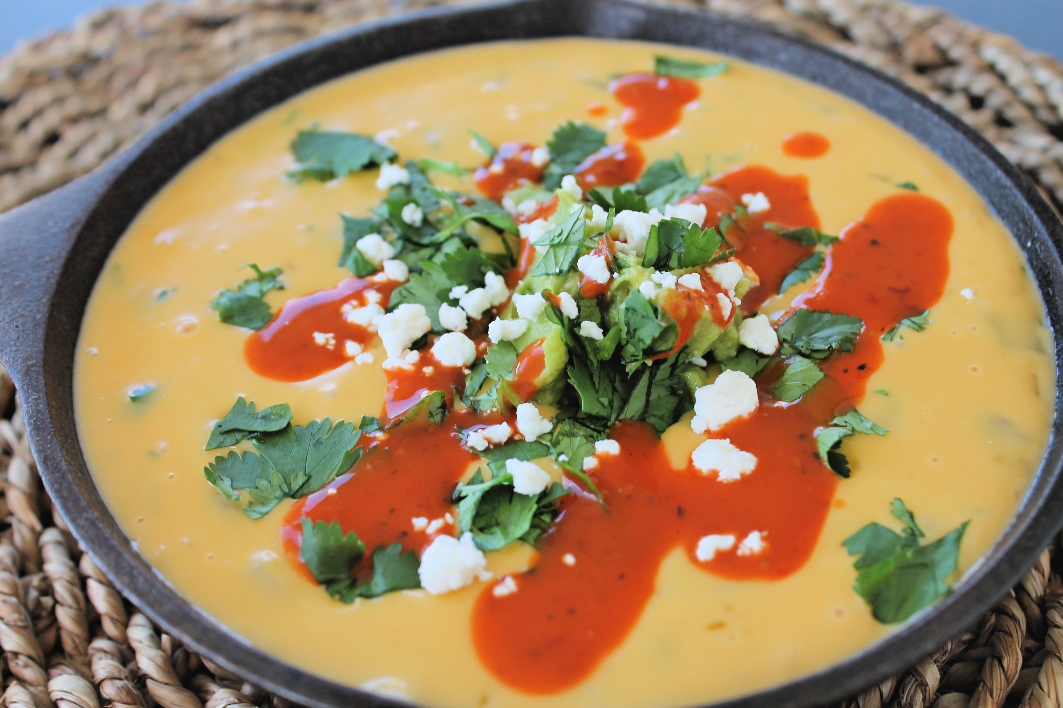 Easy and DELICIOUS Microwave Queso Dip!