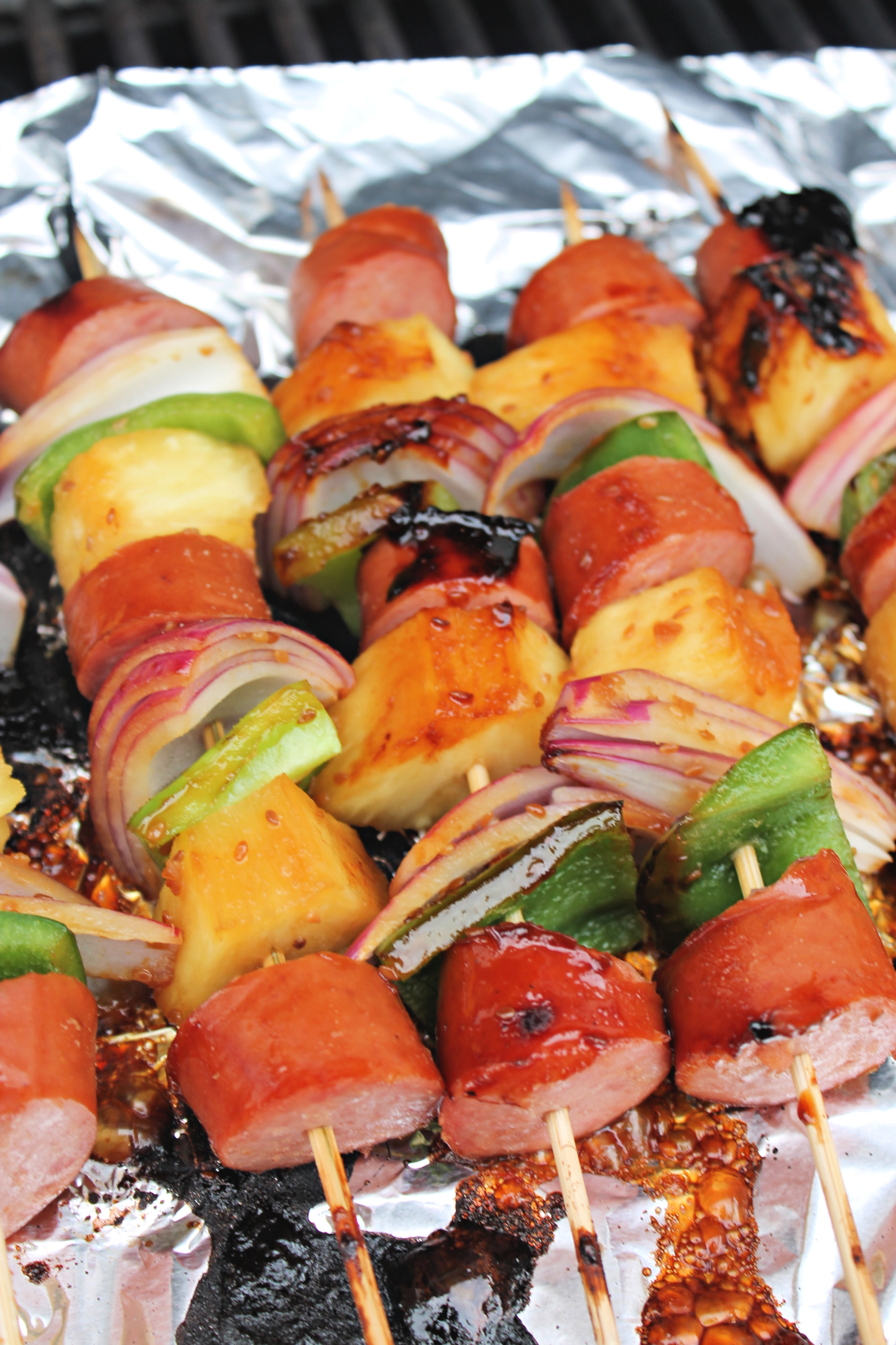Hawaiian Skewers Recipe