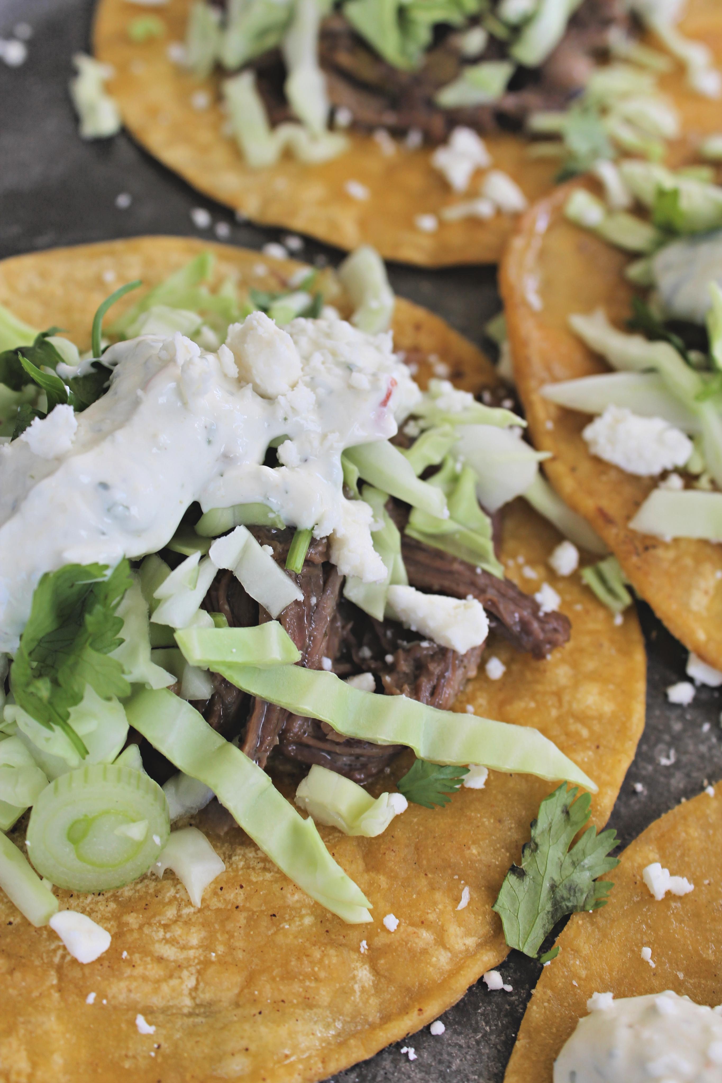 Crockpot Short Rib Tacos