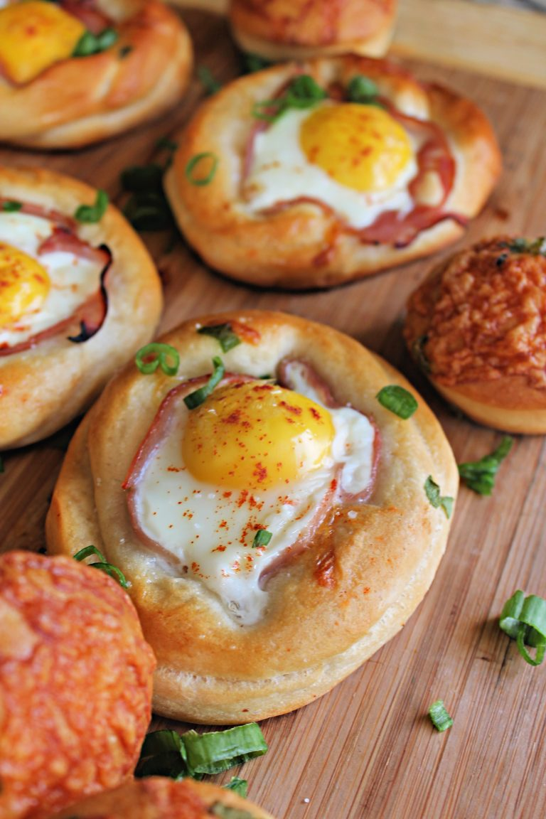 Biscuits Egg in a Hole