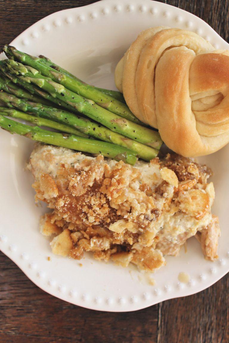 Buttery Crockpot Ritz Chicken