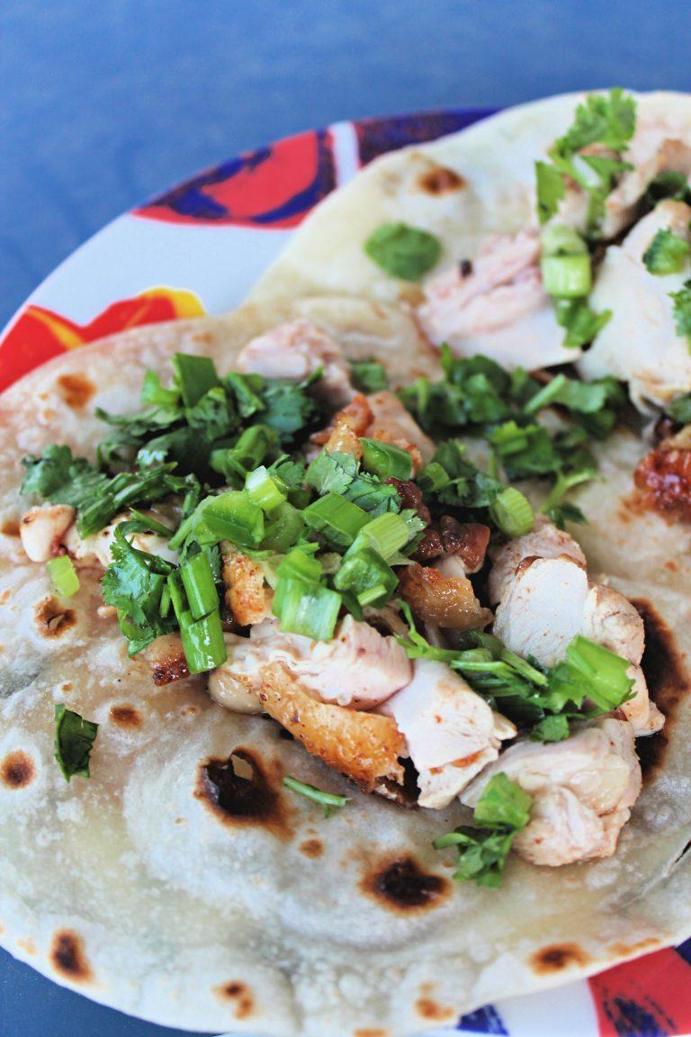Juicy Lime Cilantro Chicken Tacos