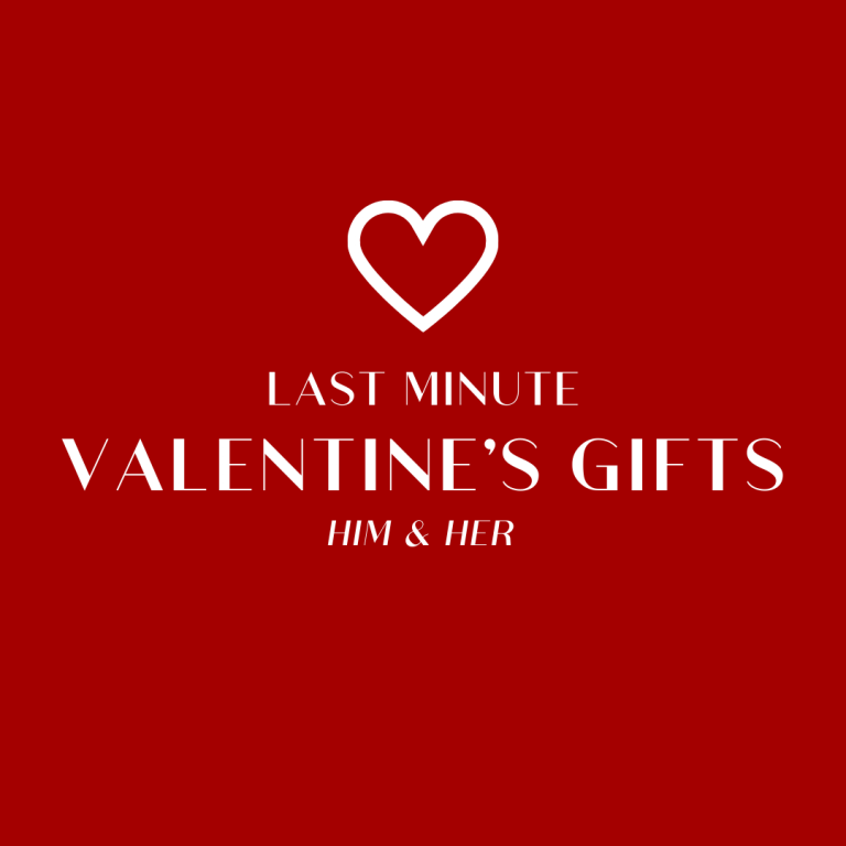 Last Minute Valentine's Day Gifts! | For Him & Her