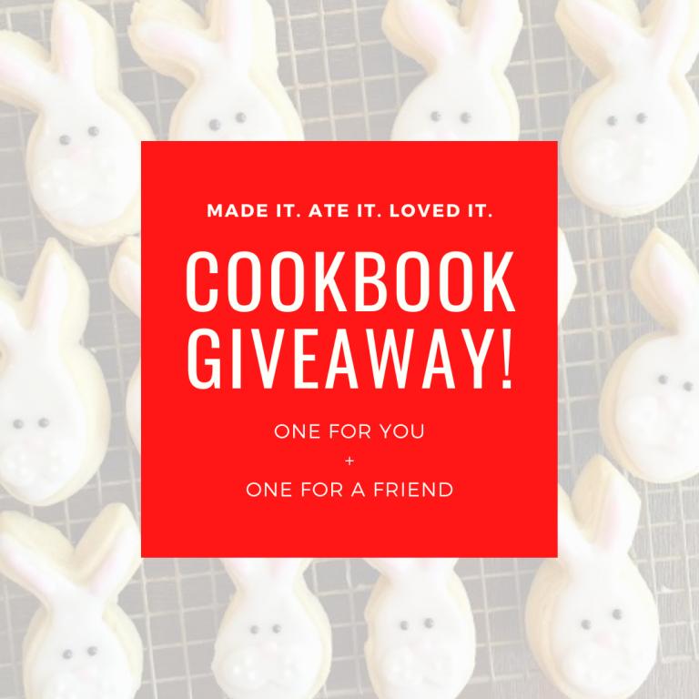 Cookbook Giveaway!