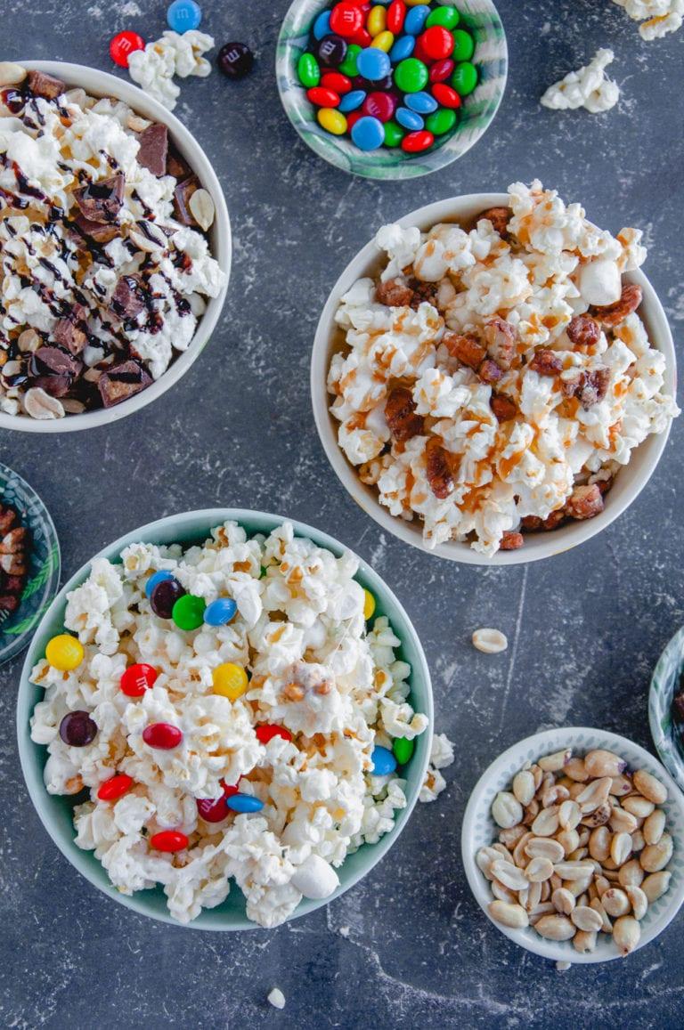 The BEST Ooey Gooey Popcorn