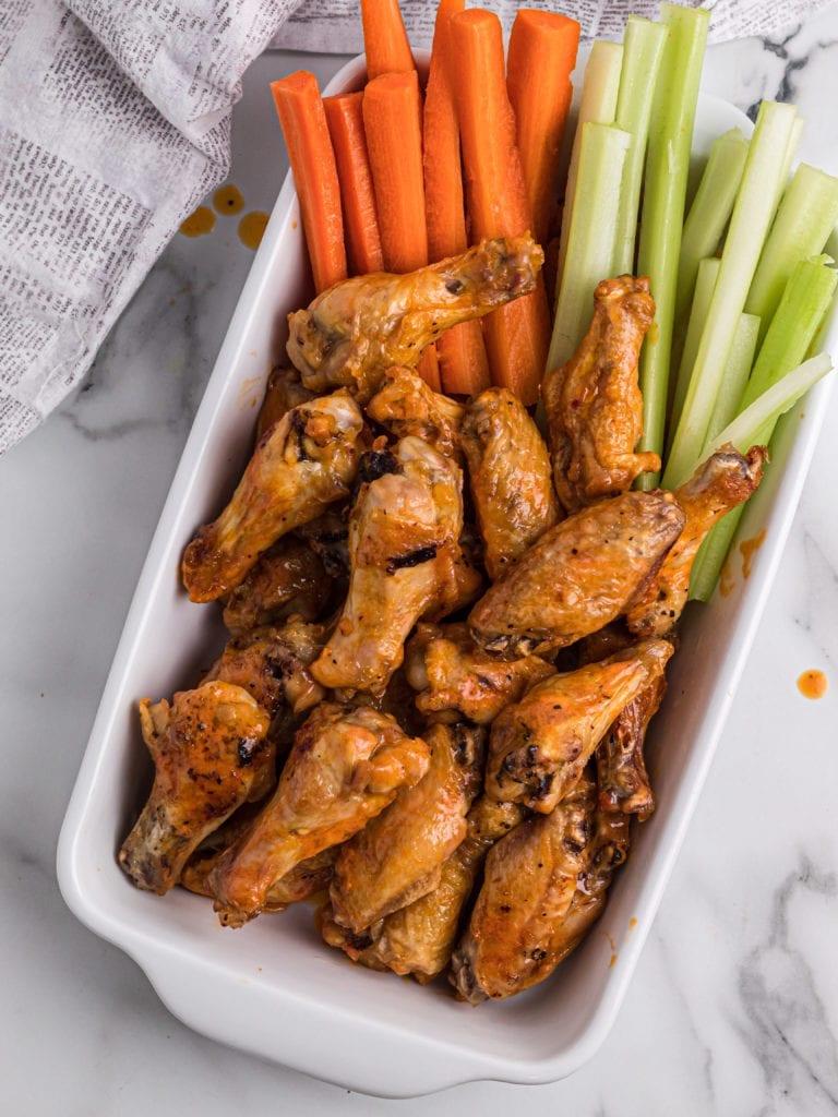 Baked Buffalo Chicken Wings