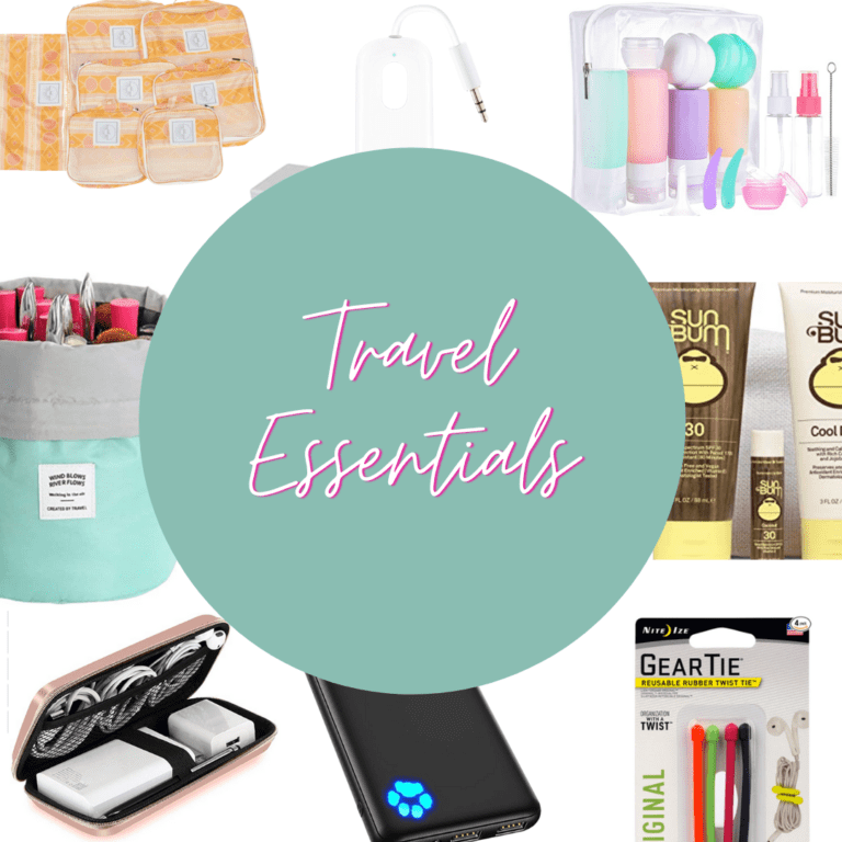 My Top 10 Travel Essentials
