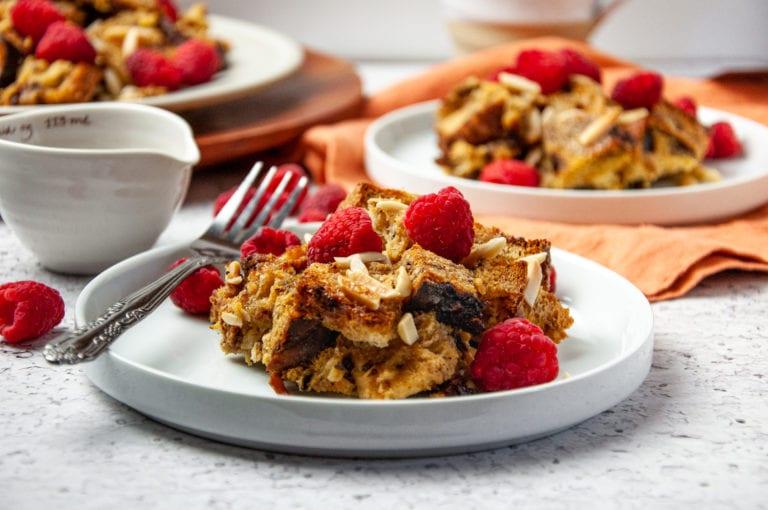 Raspberry Cinnamon French Toast