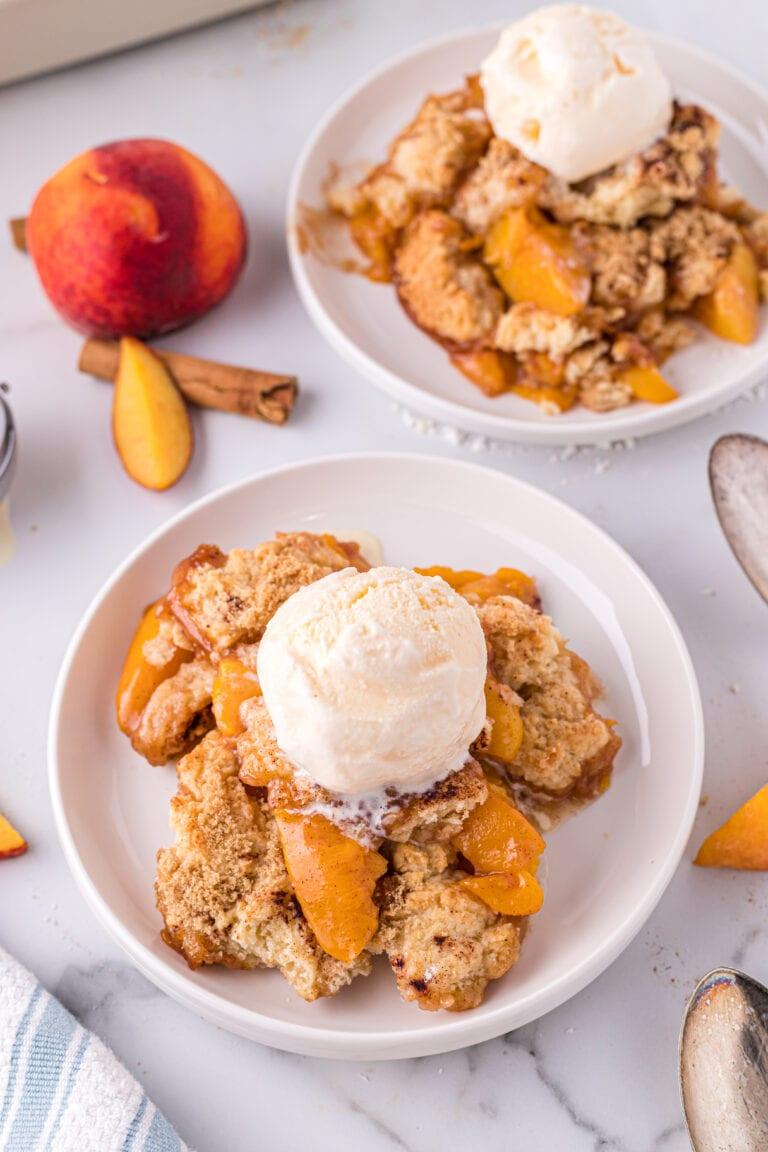 Recipe for an Easy Peach Cobbler