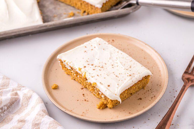 Pumpkin Sheet Cake